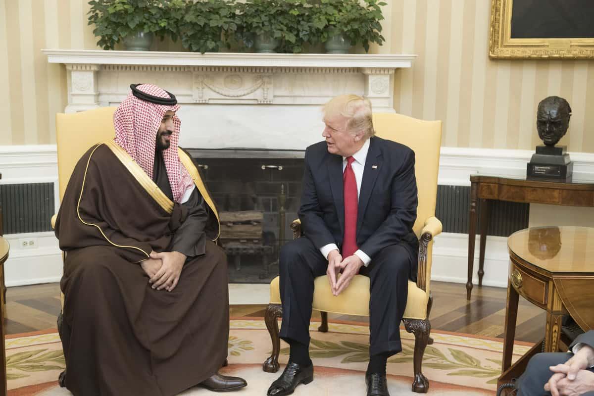 Donal Trump Mohammad bin Salman