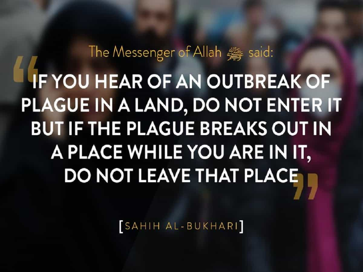 Hadith on Plague