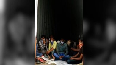 Photo of 'The Great Escape' by 225 migrants in containers from TS to Raj