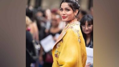 Photo of Freida Pinto: We were ridiculed for speaking so many languages