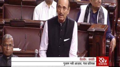 Photo of Ghulam Nabi Azad urges govt to issue statement on Delhi violence