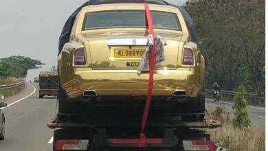 Photo of Gold Rolls-Royce cab leaves netizens in splits