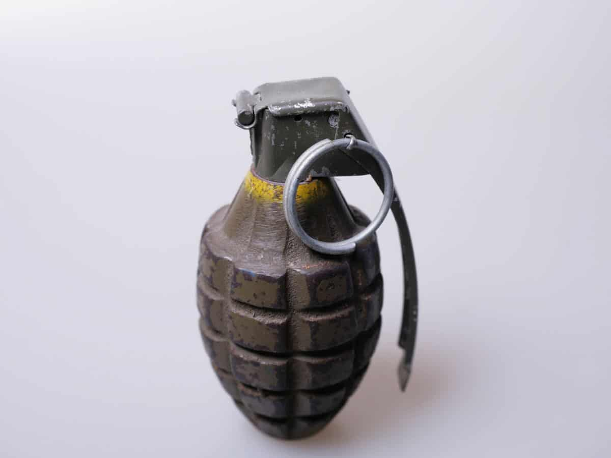 Hand grenade found in outer Delhi's Haiderpur