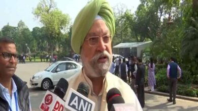 Photo of Hardeep Singh Puri strongly condemns terror attack on gurudwara