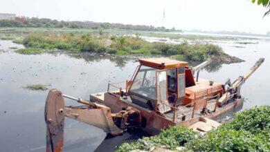 Photo of Clean up of Hussain Sagar Lake underway