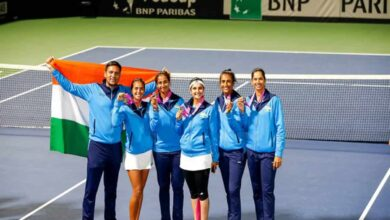 Photo of Indian team creates history as they book play-offs berth