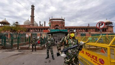 Photo of Covid-19 lockdown: Empty Jama Masjid