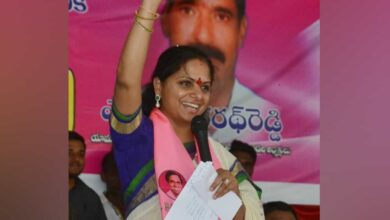 Photo of Kavitha registers landslide victory in Nizamabad MLC elections