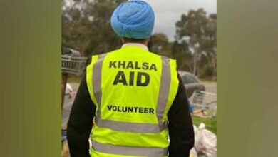 Photo of Volunteers of 'Khalsa aid' came to help like angels