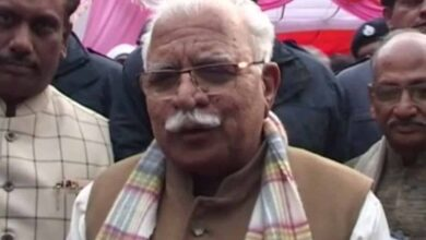Photo of Haryana CM Manohar Lal Khattar discharged from hospital