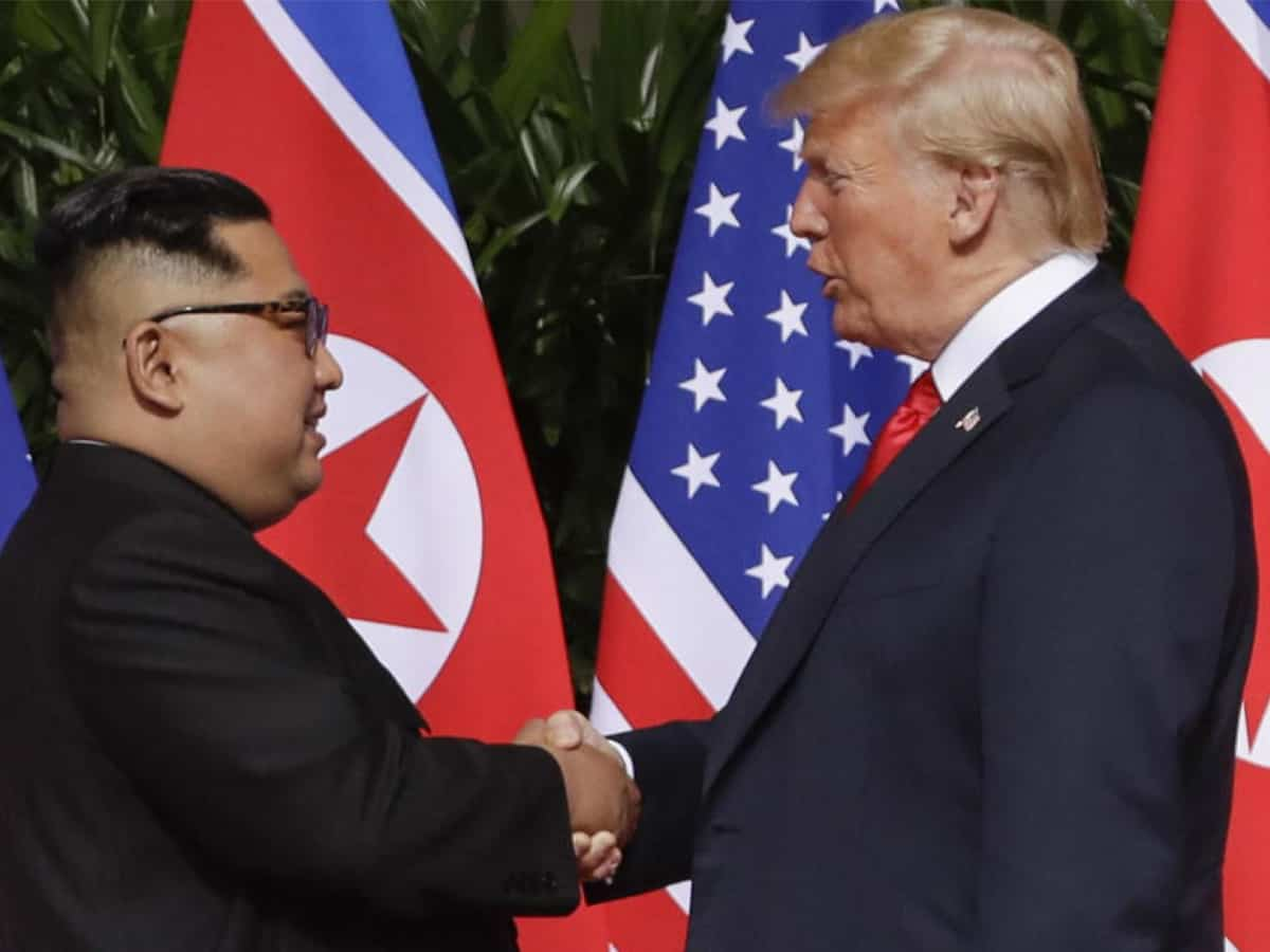 Kim joung Un Donald Trump