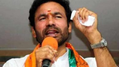 Photo of Kishan Reddy inspects construction of double bedroom dignity flat