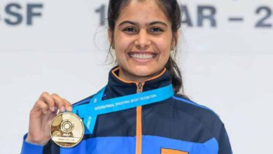 Photo of Manu Bhaker donates Rs 1 lakh for fight against COVID-19