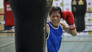 Indian boxer Mary Kom