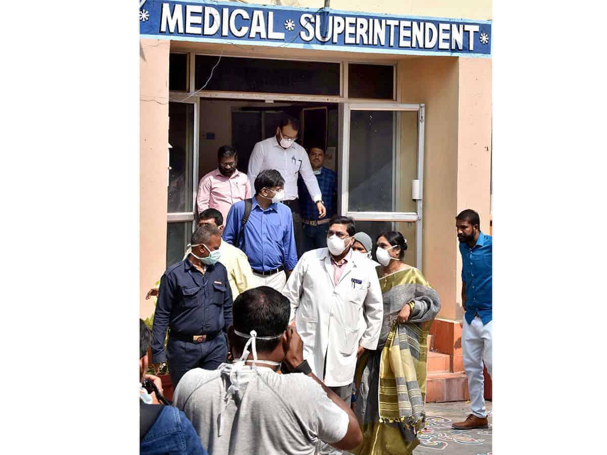 Quarantine facility coming up at Hyderabad stadium