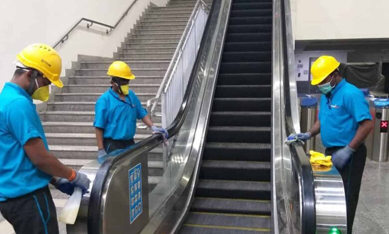 Coronavirus scare: Hyderabad Metro stations, coaches sanitised
