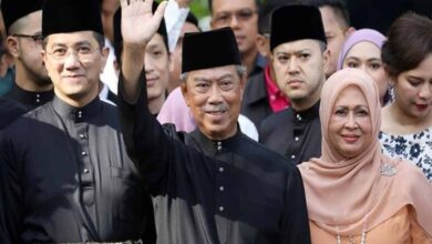 Photo of Muhyiddin Yassin sworn in as Malaysia's new Prime Minister