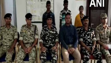 Photo of 3 Naxals surrender in Chhattisgarh's Sukma