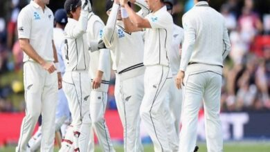 Photo of NZ bowlers rattle Indian batters on day two of second Test
