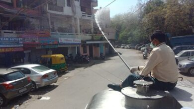 Photo of Nizamuddin area sanitised after 24 tested COVID-19 positive