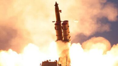 Photo of North Korea fires 3 projectiles toward Sea of Japan