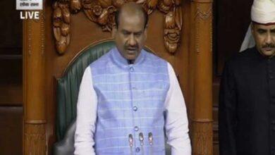 Photo of Lok Sabha adjourned till 2 pm