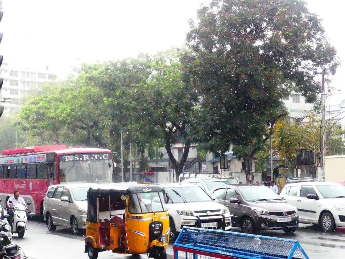 Thunderstorms, widespread rain expected over Telangana