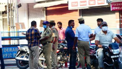 Hyd Traffic Police booked cases against 33k lockdown violators