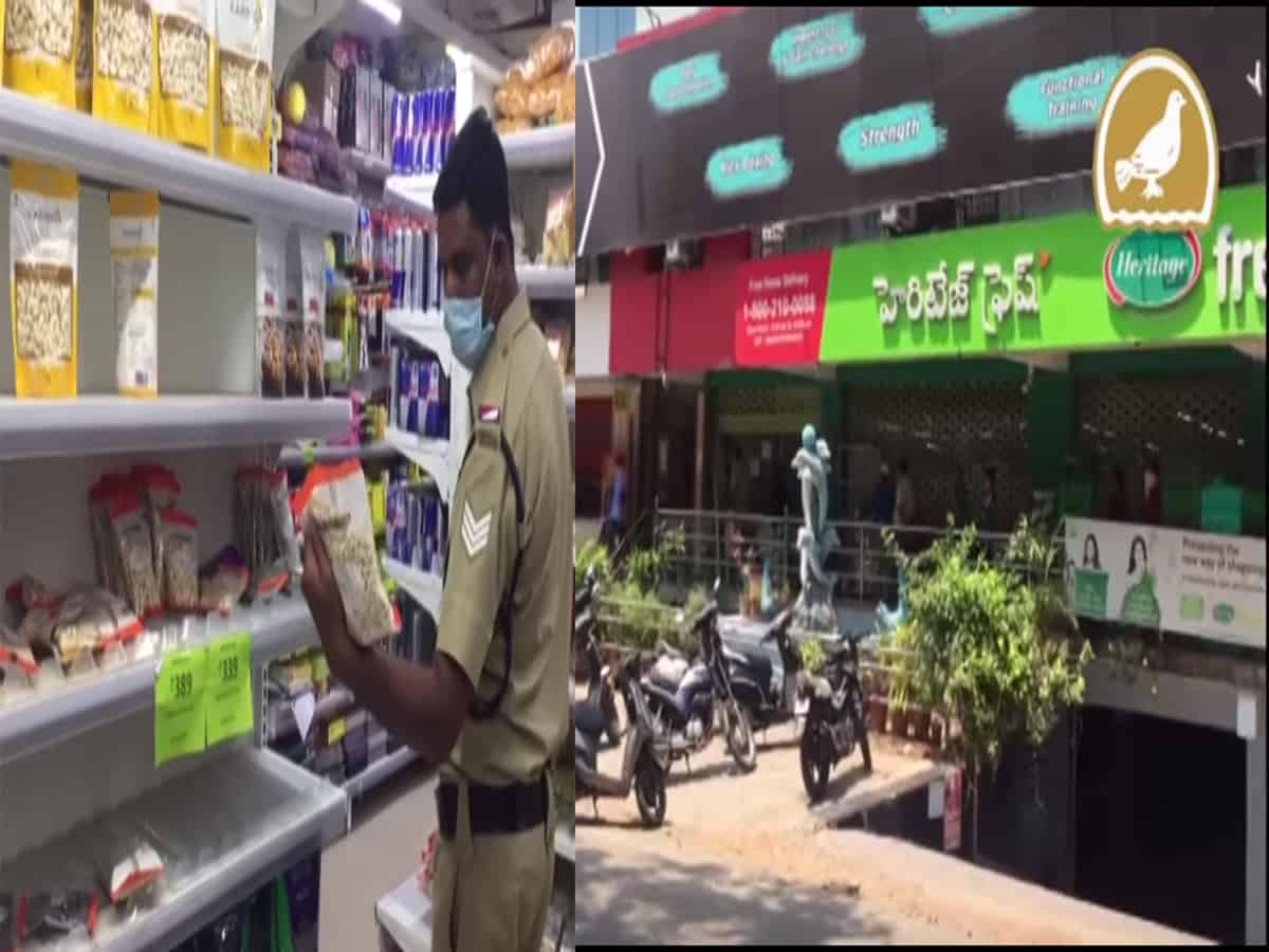 Govt officials conducts raid; imposes fine on overcharging