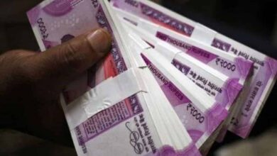 Photo of Rupee settles 5 paise lower at 75.76 against US dollar