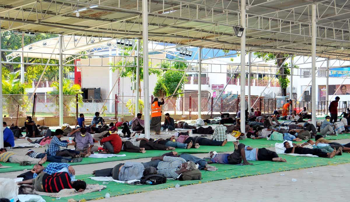 Hyderabad: GHMC sets up shelter for destitute