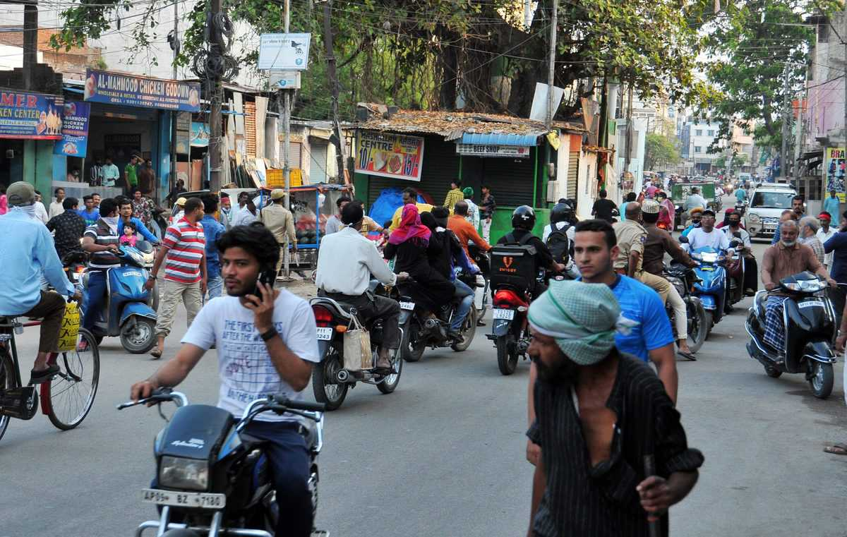 Moghalpura is still in pre-pandemic mode despite health hazards
