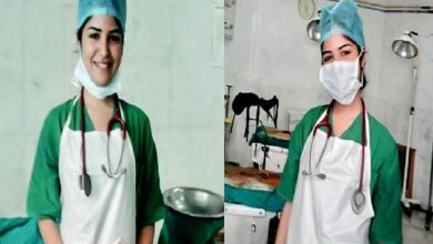 Photo of 'Fan' actress turns nurse to fight COVID-19