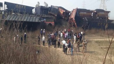 Photo of Four feared trapped after two NTPC trains collide in MP