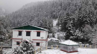 Photo of Himachal, Uttarakhand receive snowfall