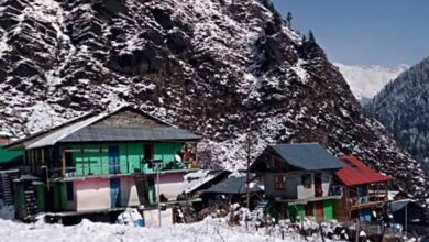 Photo of Mandhol village in Shimla receives snowfall