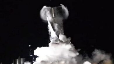 Photo of SpaceX Starship test ends in implosion
