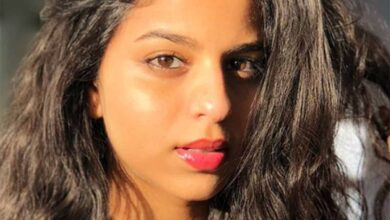 Photo of Suhana Khan's 'quarantine filming'