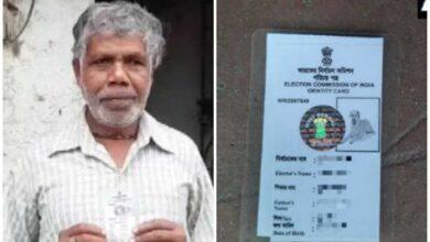 Photo of Murshidabad man issued voter ID card-carrying dog's photo