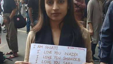 Photo of CAA protestor Swathi Khanna lodges complaint against Dubai chef