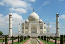 Photo of Taj Mahal reopens after six months with all COVID-19 norms