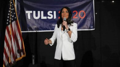 Photo of Congresswoman Tulsi Gabbard under fire for 'Hinduphobia' post