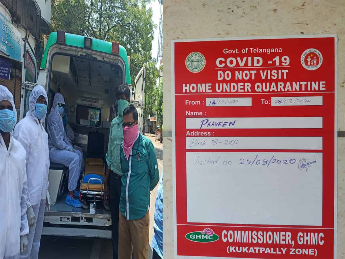Returnees from foreign lands under GHMC watch for virus