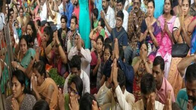 Photo of Chilkur temple holds special prayer for Coronavirus victims
