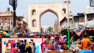 Photo of Hyderabad loses shine to coronavirus; Old City retains its charm