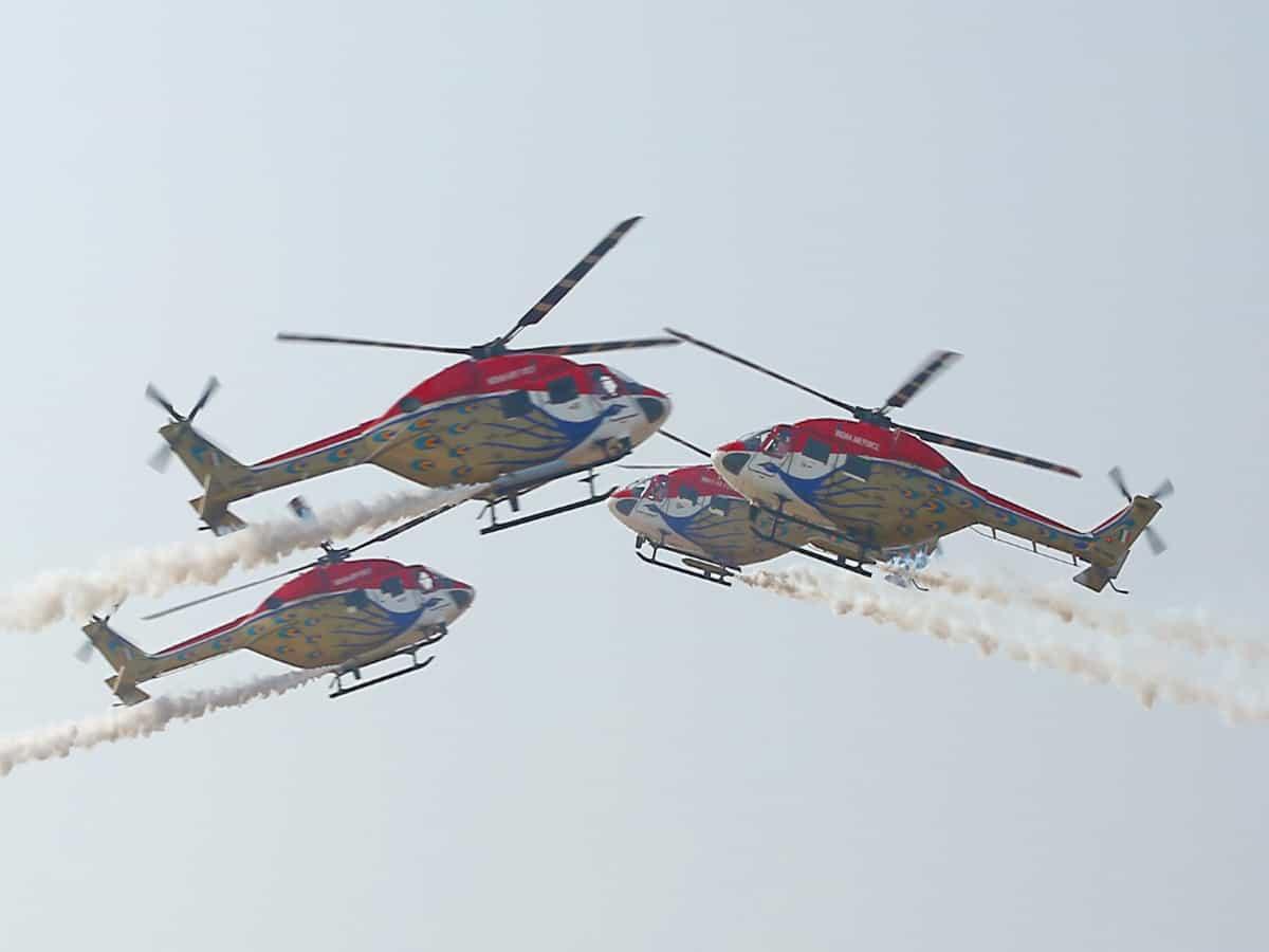 Indian Air Force 'Sarang' to perform at Wings India