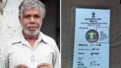 Photo of Bengal man issued voter ID card with dog's photo