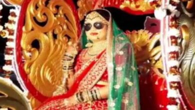 Photo of Lucknow bride flips rules;  brings 'baraat' to her wedding