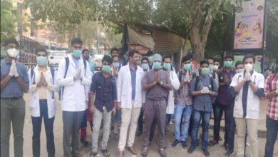 Photo of Jr. doctors demand shifting of COVID-19 ward to city outskirts
