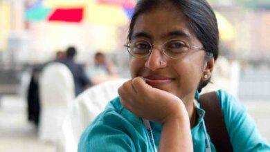 Photo of Sunitha Krishnan in isolation ward after Bangkok return